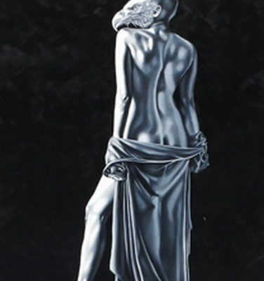 Scheherezade Junejo (Oil on Canvas) 60'' X 30''--